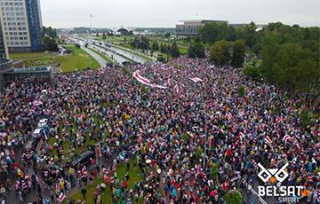 В Беларуси прошел Марш единства