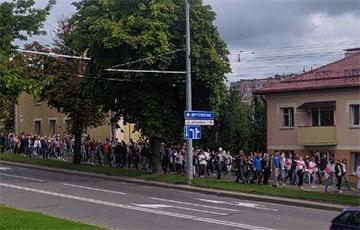 Гродно выходит на Марш единства