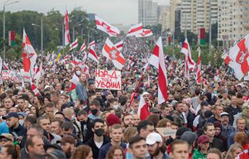 Выше флаги! 34-й день белорусской революции (Онлайн)
