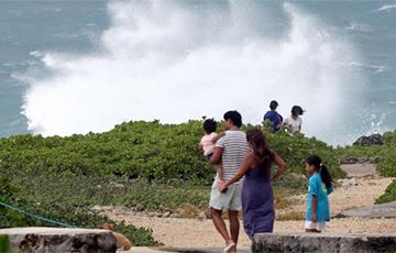 На Японию обрушился супертайфун