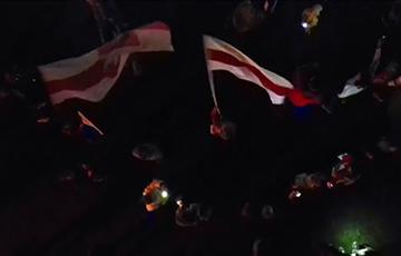 Революция каждый вечер: мощное видео от минчан