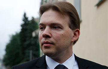 Lawyer Maksim Znak Comes Out of Hunger Strike