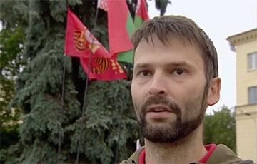 Показанный по БТ сторонник Лукашенко оказался россиянином, который состоит в КПРФ