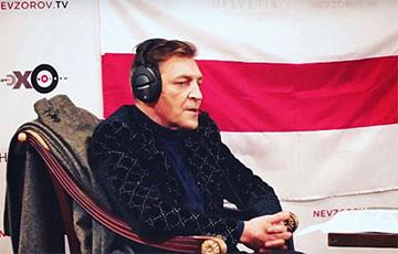 Александр Невзоров восхитился смелостью активистки «Европейской Беларуси» и зачитал ее знаменитую речь