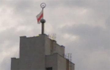 На Немиге появился свой маяк «Победа»