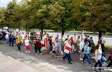 Как проходил Марш Героев в Бобруйске