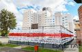 White-Red-White Morning in Belarus