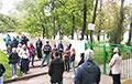 Люди вышли в поддержку активистки «Европейской Беларуси», у которой лукашисты украли сына