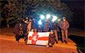 Жители Молодечно поздравили белорусов с праздником «Погони» и национального флага