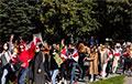 Видеофакт: Как выглядит Блестящий марш женской солидарности в ускоренном режиме