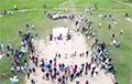 Жители Сухарево устроили настоящий праздник свободы