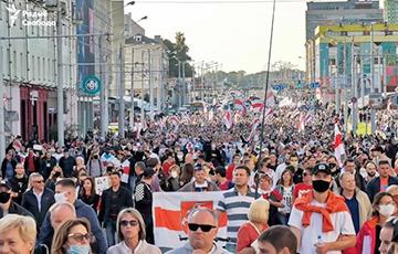 В Беларуси прошел грандиозный Марш справедливости (Онлайн)
