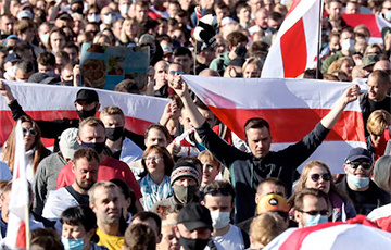 Grandiose March Of Justice Held In Belarus (Online)