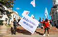 На Нямізе сабраліся тысячы беларусаў