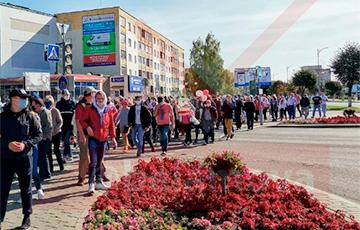 Жители Лиды вышли на Марш справедливости