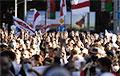 Три колонны протестующих движутся в сторону проспекта Независимости