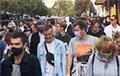 Відэафакт: Магутны марш у Берасці