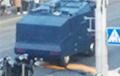 Во время протестов в Минске у силовиков сломался водомет