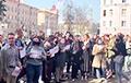 Студенты МГЛУ вышли на протест