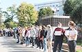 Студенты-математики вышли на молчаливую акцию протеста