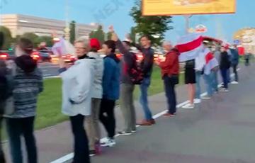 Как протестовали белорусы в 45-й день революции