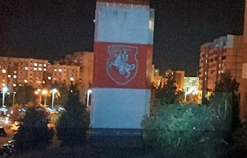 Минские «партизаны» за ночь преобразили город