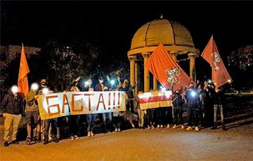 В Минске появился Фонтан свободы