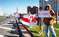 Минчане вышли на акцию протеста