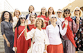 """Belarusian Women Crown Themselves on """"Inauguration"""" Day"""