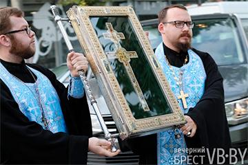 В Брест привезли копию креста Евфросинии Полоцкой