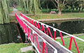 Partisans of the Bicycle Plant and the Tractor Village Painted Back Their Bridge in Minsk
