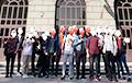 Студенты БНТУ устроили себе «инаугурацию»