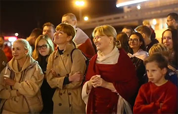 Жители Лебяжьего провели яркую акцию у себя на районе