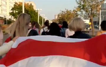У Менску прайшоў яшчэ адзін Жаночы марш