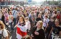 Женский марш в Минске показали в одном видео