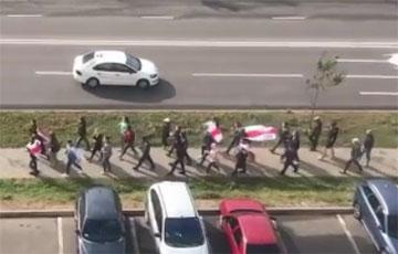 Жители Гродно вышли на Марш 97%