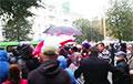 Жители Барановичей вышли на Марш