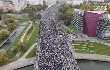 Более 100 тысяч минчан на Марше 97% в Минске