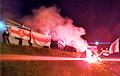Улица Богдановича в Минске протестует «с огоньком»