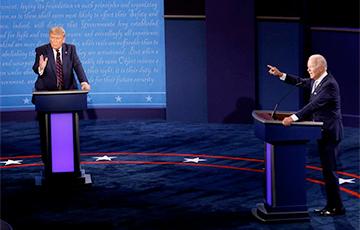 Названы темы финальных дебатов Трампа и Байдена