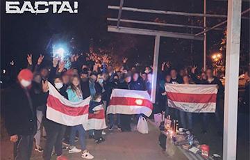 Минские дворы вышли на протест