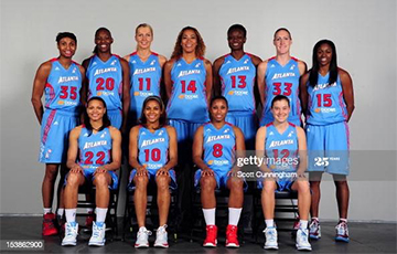 Top WNBA Club Basketball Players Supported Alena Leuchanka