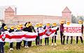 Партизаны Лиды передали привет из древнего замка Гедимина