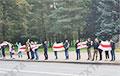 Минск выходит на новые цепи солидарности