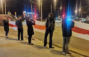 Курасовщина и Сухарево вышли на протесты