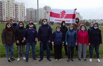 Минская Домбровка передала привет борцам с режимом на ИТ-фронте