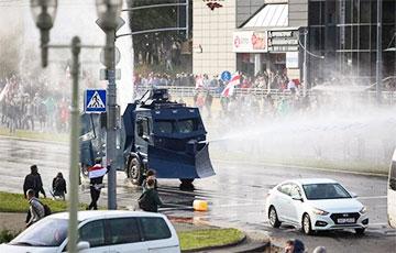Что произошло с водометами «Хищник» во время протестов в Минске?