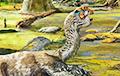 Ученые обнаружили новый вид беззубых динозавров