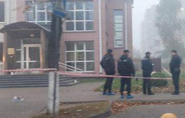 Жители Жодино: Ночью возле прокуратуры был слышен то ли взрыв, то ли хлопок