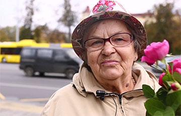 80-летняя минчанка: Хочу поддержать участников воскресных Маршей